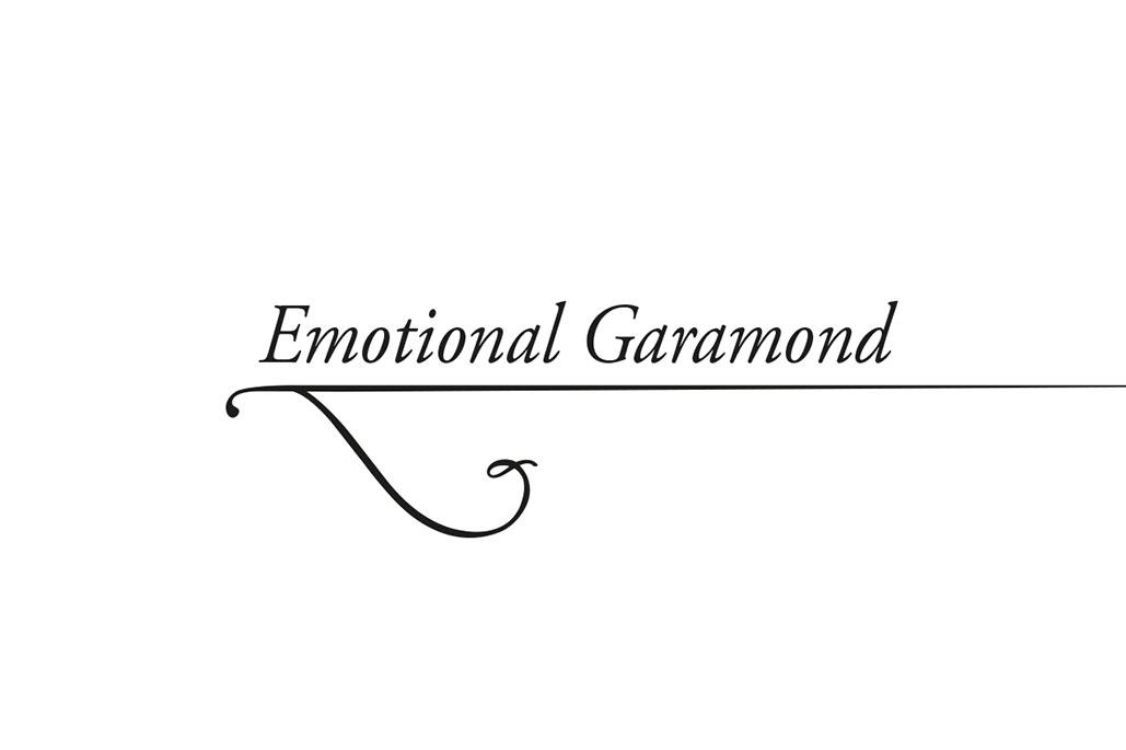 Emotional Garamond Silvio Cocco concept