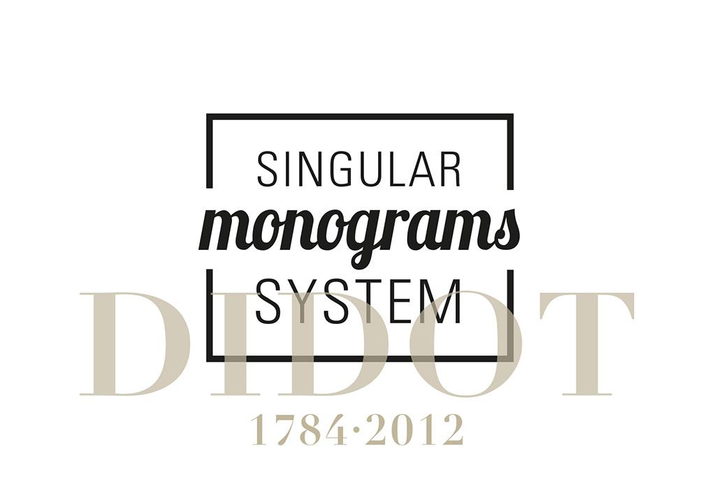 Singular Monograms System Didot