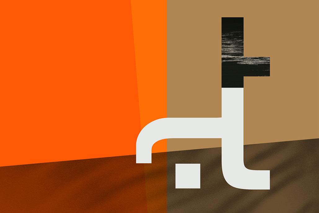Singular Monograms System Helvetica progetto di Silvio Cocco
