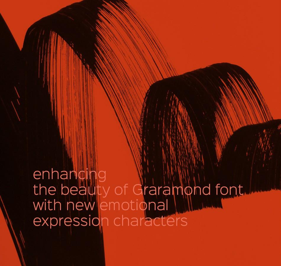 silvio cocco emotional garamond typographic design