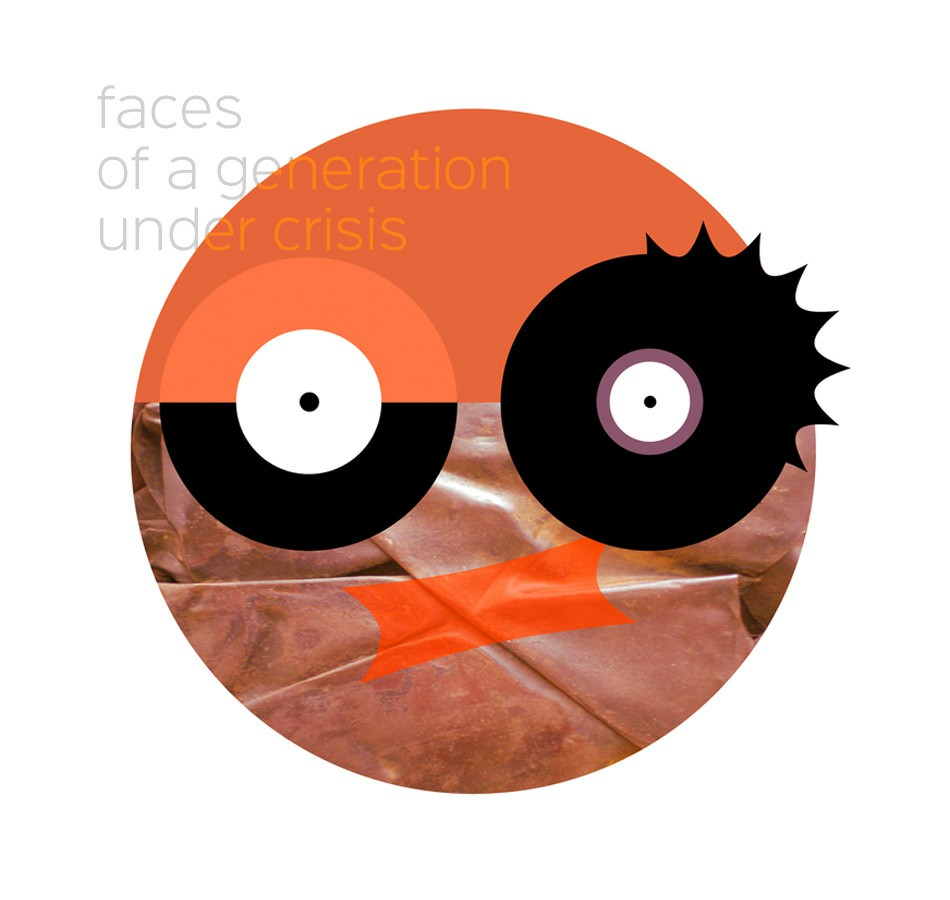 silvio cocco crisis emoticons graphic